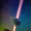 謎の発光現象「スティーブ」か 日本人がアラスカで撮影:朝日新聞デジタル