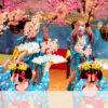 新天皇即位祝う満開の総踊り 受難乗り越えた都をどり [京都花街マガジン]:朝日新聞