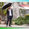 """""""日傘男子""""が増加 熱中症予防や薄毛対策に有効 : 中京テレビNEWS"""
